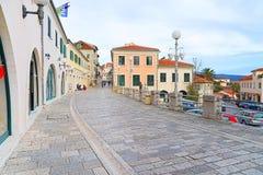 Улица городка Herceg-Novi старого Стоковое Изображение
