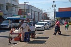 Улица Дэвида - Панамы стоковое изображение