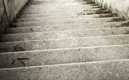 Улица лестниц цемента Стоковые Фото