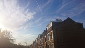 Улица лета Стоковое фото RF