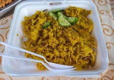 улица еды тайская Стоковая Фотография RF