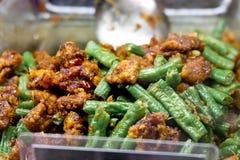 улица еды тайская Стоковое Изображение RF