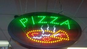 улица знака ресторана пиццы рекламы takeway Стоковые Фотографии RF