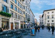 улица Италии Стоковое Фото
