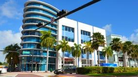 Улица и Вашингтон Miami Beach 5-ые акции видеоматериалы