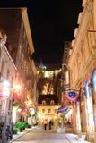 Улица Квебека (город) Стоковое фото RF