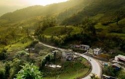 Улица к раю стоковые фото