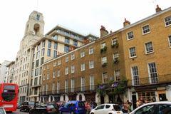 Улица Лондон Англия хлебопека Стоковое Изображение RF