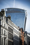 Улица Лондон Fenchurch стоковое фото