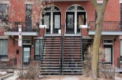 Улица Монреаля стоковое фото rf