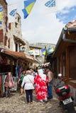 Улица Мостара стоковые изображения