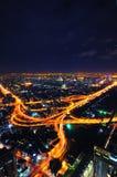 Улица на ноче Стоковое Фото