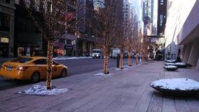 Улица Нью-Йорк Стоковое фото RF