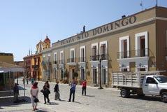 Улица Оахака стоковые фото