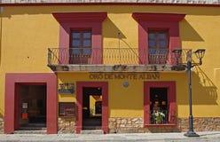 Улица Оахака стоковое изображение rf