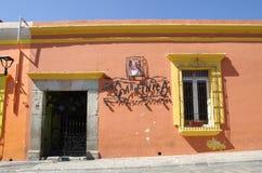 Улица Оахака стоковая фотография rf