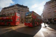 Улица Оксфорда, Лондон, 13 05 2014 Стоковое Фото