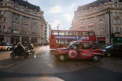 Улица Оксфорда, Лондон, 13 05 2014 Стоковые Фото