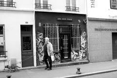 Улица Парижа Стоковые Изображения