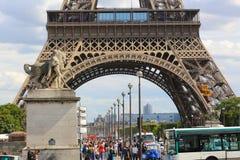 Улица - Париж Стоковая Фотография RF