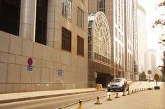 Улица Пекина Wangfujing коммерчески стоковое изображение rf