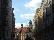 Улица Праги Стоковое фото RF