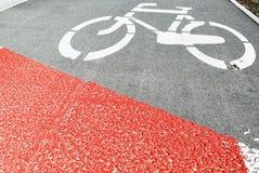 улица путя palanga велосипеда basanaviciaus Стоковое Изображение RF
