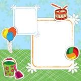 Улица рамки игрушек бесплатная иллюстрация