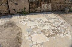 Улица древнего города Laodikeia Стоковые Изображения RF