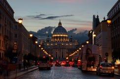Улица Сан Pietro Стоковое Фото