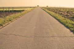 Улица сельской местности Стоковые Фото