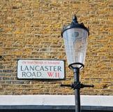 улица сигнала значка в ol перехода Лондона Англии Европы Стоковая Фотография
