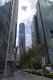 Улица Сингапура Стоковые Изображения RF