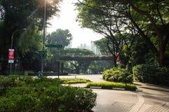 Улица Сингапура Стоковое Фото
