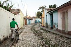 Улица Тринидада Стоковые Изображения