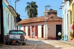 улица Тринидад Кубы Стоковая Фотография RF