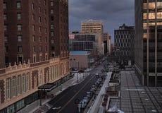 Улица Уоррена Стоковая Фотография RF