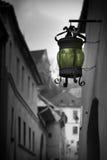 улица фонарика ретро Стоковое Изображение RF