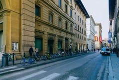 Улица Флоренс Стоковые Фото