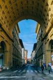 Улица Флоренс Стоковая Фотография RF