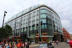 Улица центральный Лондон Великобритания Portman стоковое изображение rf