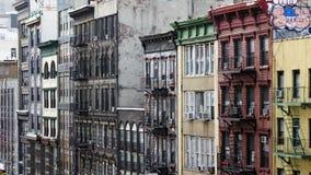 Улица Чайна-тауна в NYC Стоковое Фото