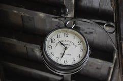 улица часов старая Стоковая Фотография RF