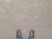 улица человека стоящая Стоковая Фотография