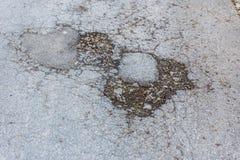 Улица ямы Стоковое Изображение