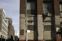 Улица Джэй, DUMBO Стоковое фото RF