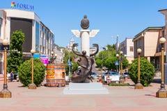 Улица arbat Lenina пешеходная Стоковая Фотография RF