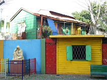 Улица Boca Ла Стоковое Изображение RF
