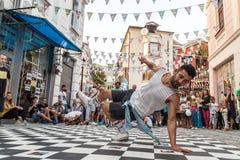 Улица breakdancing Стоковое фото RF