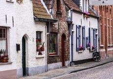Улица Brugge стоковые изображения